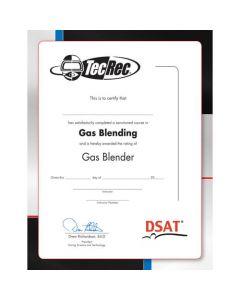 PADI Gas Blender Certificate