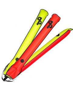 AP Diving - Buddy Self Sealing SMB, 3 Colours Red, Yellow, Red/Yellow