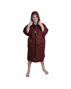 Charlie Mcleod Kids ECO Dry Robe | Junior Change Robe | Burgundy