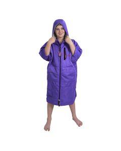 Charlie Mcleod Kids ECO Dry Robe | Junior Change Robe | Purple