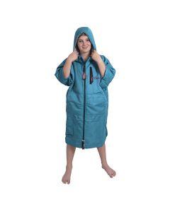 Charlie Mcleod Kids ECO Dry Robe | Junior Change Robe | Turquoise