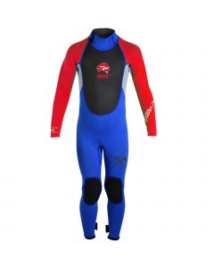 Circle One ABC Pulse Infants 3/2mm Wetsuit - 1 Piece Steamer Black/Red
