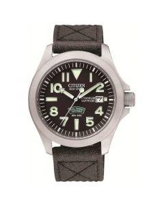 Citizen Mens Royal Marine Commando Eco-Drive Watch | BN0110-06E