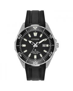 Citizen Mens Super Titanium Divers Watch - Eco-Drive