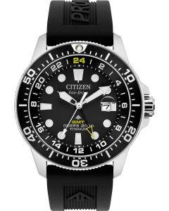 Citizen Mens Promaster Super Titanium GMT Dive Watch
