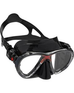 Cressi Big Eyes Evolution Mask - Black Skirt