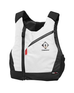 Crewsaver Pro 50N CZ Buoyancy Aid - Black White Centre Zip Adult