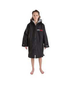 Dryrobe Kids Advance Long Sleeve - Black / Grey