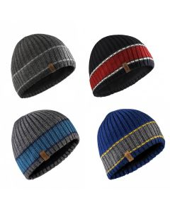 Gill Band Stripe Beanie - Various Colours
