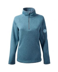 Gill Womens Knit Fleece Blue Melange | Sailcloth | Silver