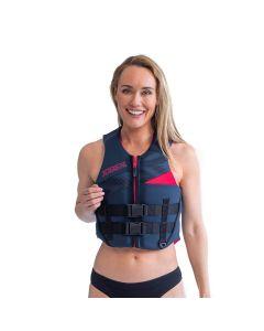 Jobe Womens Neoprene Vest + PFD - Midnight Blue Impact Vest
