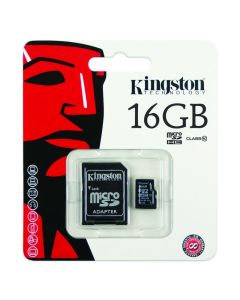 Kingston 16GB Micro SD Card Class 10