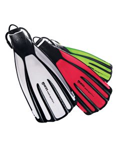 Mares Avanti Quattro Plus Fins - Adjustable Open Heel Diving Fins