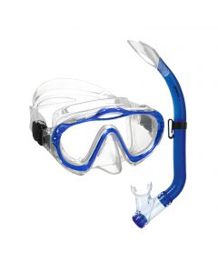 Mares Junior Sharky Mask and Snorkel Set - Blue