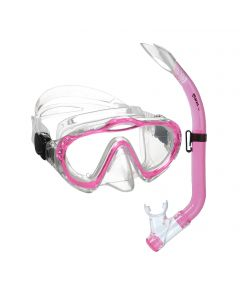 Mares Junior Sharky Mask and Snorkel Set - Pink