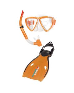 Mares Wahoo Junior Mask Fins Snorkel Set, Mira | Wahoo | Effect