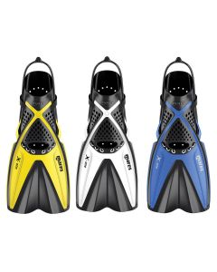 Mares X-One Adult Snorkelling Fins - Open Heel Adjustable Fin