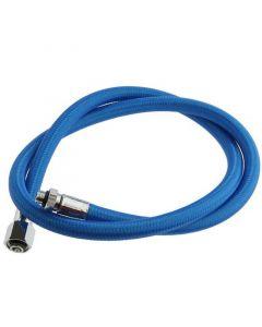 "Miflex Regulator Hose - Blue - 3/8"" UNF 1st Stage fitting (Standard)"