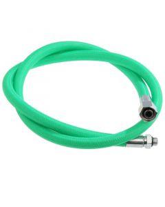 "Miflex Regulator Hose - Green - 3/8"" UNF 1st Stage fitting (Standard)"