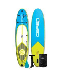 "O'Brien Hilo 10'6"" SUP Bundle - Inflatable Hilo Paddleboard"