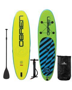 "O'Brien Kona 10'6"" SUP Bundle - Inflatable Kona Paddleboard Package"
