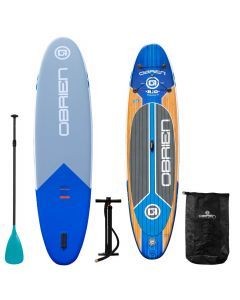 O'Brien Rio 11' SUP Bundle - Inflatable Rio Paddleboard Package