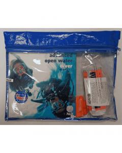 PADI Advanced Open Water Diver Crewpak SMB & Whistle