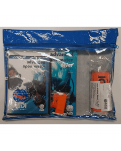 PADI Advanced Open Water Diver Ultimate Crewpak - DVD, SMB & Whistle