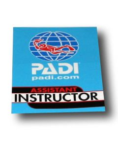 PADI Assistant Instructor Vinyl Decal