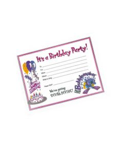 PADI Invitation Card - Bubblemaker Birthday