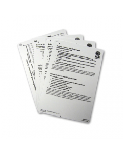 PADI Instructor for Divemaster Course Cue Cards (4 Slates)
