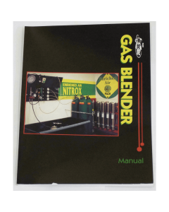 PADI Gas Blender Manual - With DSAT Blending Software Download