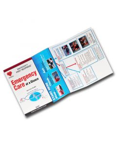 PADI EFR Emergency Care at a Glance Reference Card
