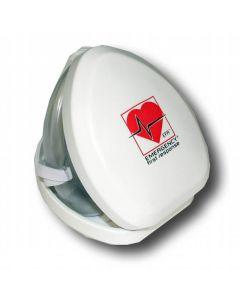 PADI/EFR Pocket Mask with Oxygen Port in Hardshell Case