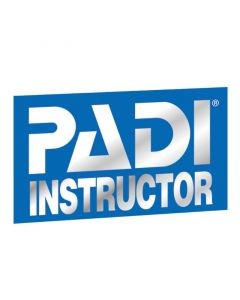 PADI Instructor Decal