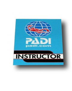 PADI Instructor Vinyl Decal