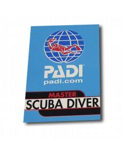 PADI Master Scuba Diver Vinyl Decal