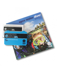 PADI Open Water Manual with eRDPML, Metric