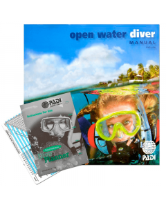 PADI Open Water Manual with RDP Table, Metric