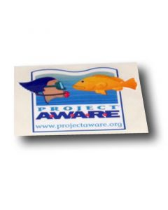 PADI Project AWARE Decal