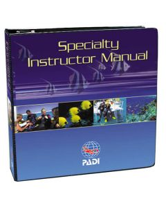 PADI Specialty Course Instructor Outlines Manual