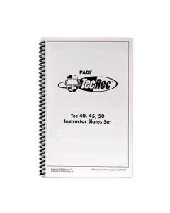 PADI Tec Instructor 40, 45 , 50 Slates