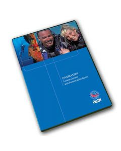PADI Divemaster Lesson Guides & Presentation Notes CD-ROM