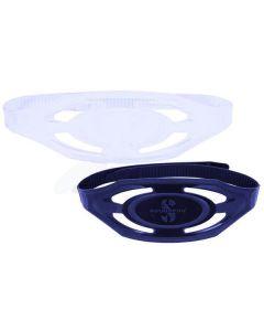 Scubapro Mask Strap 16mm, Spectra, Spectra Mini, Clear, Black Silicone