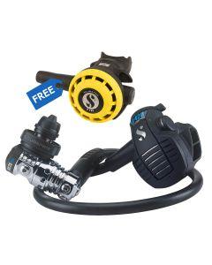 Scubapro MK25 EVO D420 Regulator DIN + FREE R195 Octopus