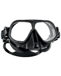 Scubapro Steel Comp Freeding Mask - Black, Clear & White