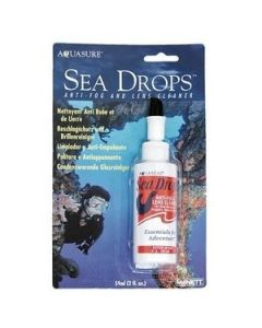 McNett Sea drops mask defog with brush 2oz 60ml