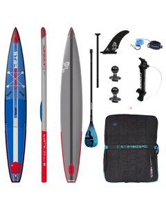 Starboard All Star Airline Deluxe 14' iSUP Paddleboard Bundle With Tiki Tech Carbon Fibre Paddle