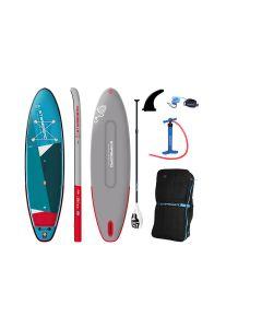 Starboard IGO Zen DC iSUP + Tufskin Paddle - 10'8 Inflatable  Paddleboard Bundle