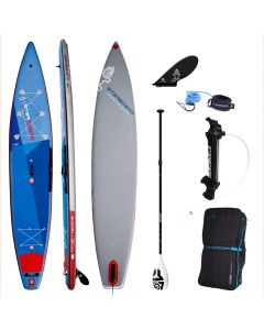 Starboard Touring Deluxe 14' iSUP - Paddleboard Bundle - Carbon Fibre Paddle